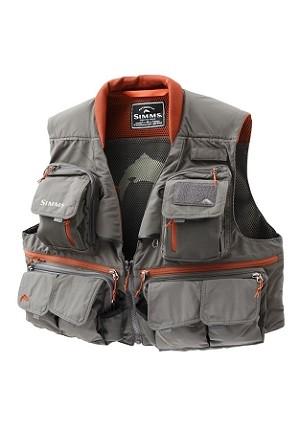 Simms Guide Vest - Greystone