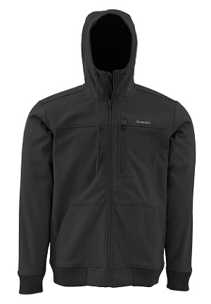 Simms Rogue Fleece Hoody - Black