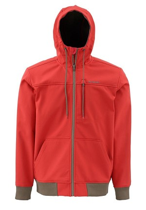 Simms Rogue Fleece Hoody - Ruby
