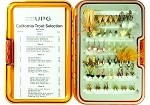 Umpqua UPG California Fly Selection - 54 Flies & FREE Fly Box